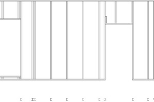 Abb.6: Elementplan für einen Wandaufbau
