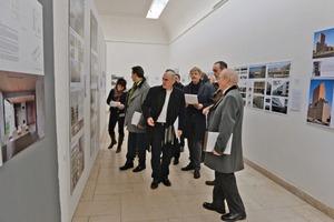 Die achtköpfige Jury traf sich am 27. und 28.02.2014 in der UdK Berlin, um die Einreichungen zum Balthasar-Neumann-Preis 2014 zu begutachten