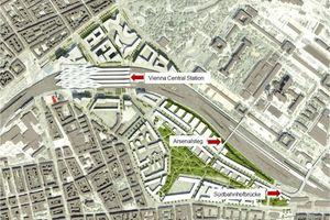 Masterplan Hauptbahnhof Wien