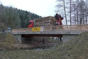 Birkberg-Brücke über die Wipper bei Wippra in Sachsen-Anhalt