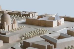 Modell des Humboldt-Forums