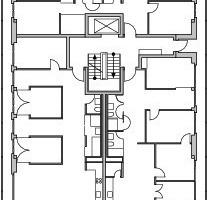 2. Obergeschoss, M 1 : 500
