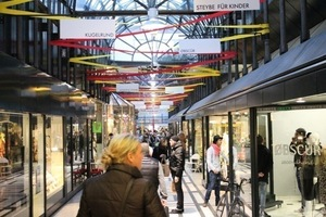 Die Concept Mall Fluxus könnte für die Calwer-Passage ein dauerhaftes Konzept werden