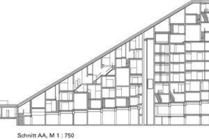 Die Apartments erscheinen in der Fassade nicht zu kleinteilig<br />