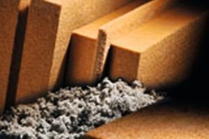 Im Trockenverfahren hergestellte Dämmstoffe