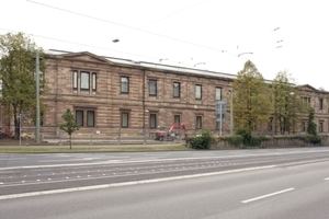 Ansicht Neue Galerie Nordwestseite (über die Frankfurter Straße (B3) hinweg