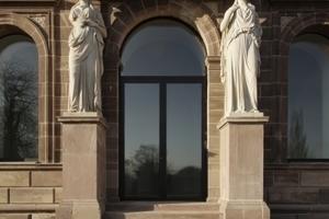 Südportal mit den Karyatiden von Karl Echtermeier