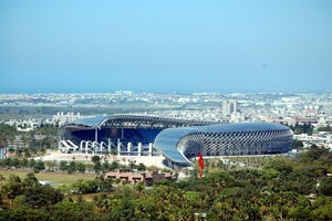 Taiwans Imagewechsel: Um den schlechten Ruf als Umweltsünder loszuwerden, wurde für die World Games 2009 das größte solarbetriebene Stadion gebaut<br />