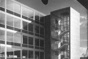 Werkstattgebäude VIII, Franke & Heidecke (Rolleiflex), Braunschweig, 1955-56