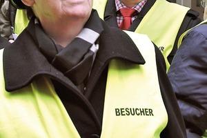Offensiv: Bundesbau-ministerin Barbara Hendricks in Arbeitskleidung