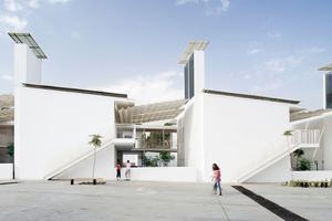 """""""Einfach Lowtech"""" – Das Lycée Charles de Gaulle in Damaskus verfügt über ein ausgeklügeltes, natürliches Kühlsystem"""