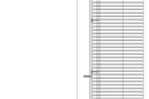 Fassadenschnitt, M 1:50<br />