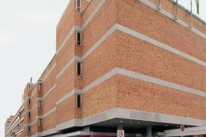 Fensterlose Lagerhaus- und Kaufhausarchitektur