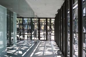 Innenraum des Sitzes der Südwestmetall in Reutlingen, 2002<br />