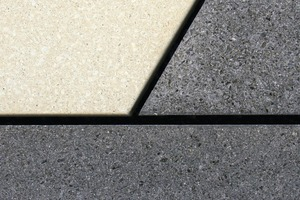 Offene Fuge, hier an einer glasfaserbewehrten Fassadenplatte<br />