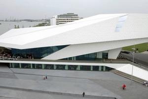 Jakob Dunkl erkundet das Film-Museum EYE von Delugan Meissl in Amsterdam