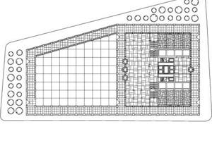 Grundriss EG, Museum, M 1:1500<br />