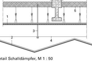 Detail Schalldämpfer, M 1:50