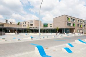 """Das Bildungszentrum """"Tor zur Welt"""" ist ebenfalls ein Passivhaus"""