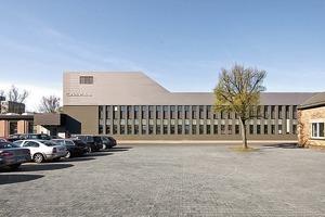 Sanierung und Erweiterung einer Industriehalle-Chemiekonzern Umicore , 2010<br />