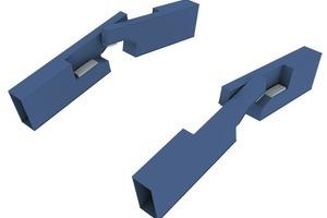 Fingerverriegelung: Durch die Ausbildung der Hauptträgerspitzen als Finger werden Momente und Querkräfte in der Brückenmitte durch die Hauptträger übertragen, indem sich die Finger gegenseitig auf den Hauptträgern abstützen<br />