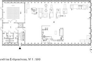 Grundriss, M 1:500