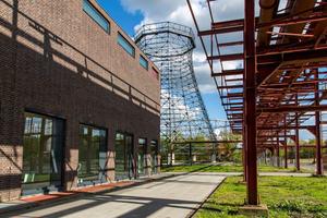 Kammgebäude der Kokerei Zollverein von außen