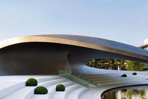 Fehlte noch in der Sammlung VW-Autostadt: der Porsche Pavillon<br />