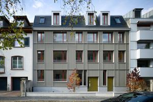 Neubau Aescherstrasse 12 in Basel, Osolin & Plüss Architekten BSA AG