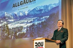 Baumit-Geschäftsführer Ludwig A. Soukup