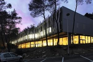 Centre de vie, Sophia Antipolis/F, gewonnener Wettbewerb 2008, Fertigstellung 2010<br />
