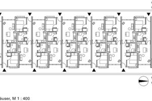 Seniorenhäuser, M 1:400<br />