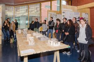 """Ausstellung """"Querschnitt"""" und Verleihung des BDB-Preises in der Architektur-Fakultät der Frankfurt University of Applied Sciences"""