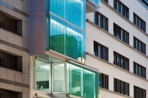 Die ressourcenschonende Konstruktion und die Materialwahl mit hohem Vorfertigungsgrad und deren hohes Maß an Recyclingfähigkeit brachte dem Gebäude F40 die DGNB-Gold-Vorzertifizierung ein