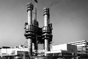 Der HVB Tower wurde 1975 bis 1981 nach Plänen von Walther und Bea Betz gebaut