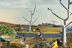 Postfossile Energielandschaften 2050? Eine Bauhausvision<br />