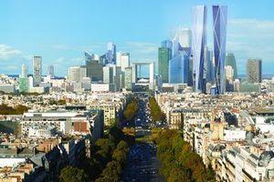 """Themenfeld """"Paris 2010, Urbane Alternativen zur hochverdichteten Innenstadt"""": La Défense, die City außerhalb"""