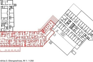 Grundriss 3.Obergeschoss, M 1:1250