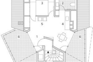 """<div class=""""10.6 Bildunterschrift"""">Grundriss Dachgeschoss, M 1:200</div>"""
