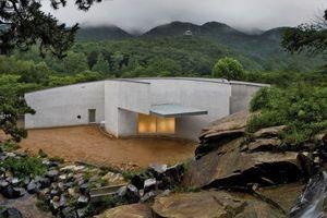 Álvaro Siza, Anyang Pavillon, Young-Il Park,  Südkorea, 2005 – 06