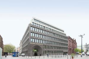 U. a. auf der DAM Preis 2018 Shortlist: Bremer Landesbank, Bremen, von CARUSO ST JOHN ARCHITECTS