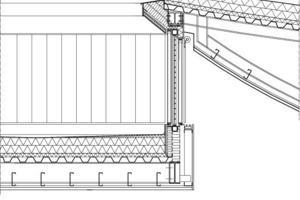 Dachdetail, M 1:50<br />