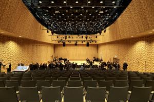 Der Kleine Saal bietet Platz für bis zu 550 Zuhörer