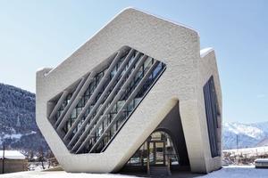 Offenheit ist oberstes Gebot: Gerichtsgebäude Mestia/GE<br />