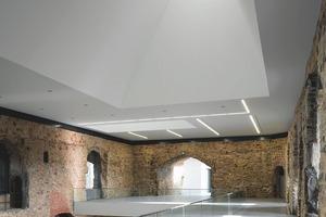 Insgesamt wurden durch dem Umbau 2100 m² neue Ausstellungsfläche geschaffen