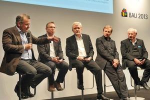 v. l.: Stefan Behnisch, Thomas Auer, Michael Frielinghaus, Manfred Hegger, Gerhard Hausladen