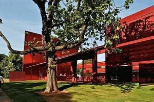 Serpentine Gallery Pavilion 2010 (Arch.: Atelier Jean Nouvel)<br />