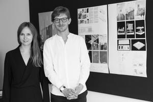Die jeweils mit 5.000 € dotierten Reisestipendien des Helmut-Hentrich-Stiftungspreises erhalten Miriam Johanna Völcker (UdK Berlin) und Maximilian Goes (KIT Karlsruhe)