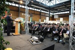 Zum zweiten Mal findet die econstra in den Hallen der Messe Freiburg statt.<br />