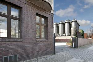 Am Werkbundhaus an der Quedlinburger Straße<br />